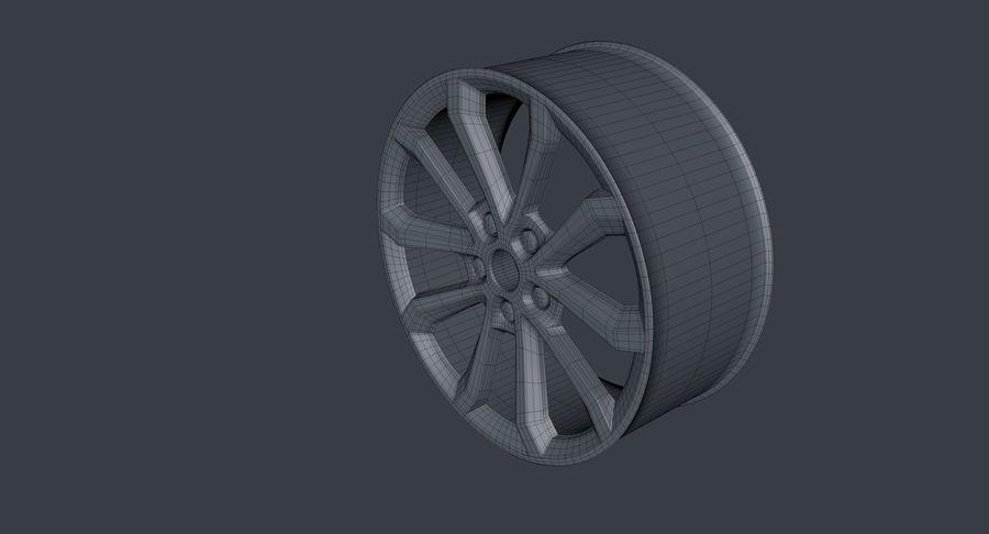 koła royalty-free 3d model - Preview no. 6