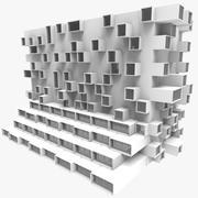 Framtida byggnad 002 3d model