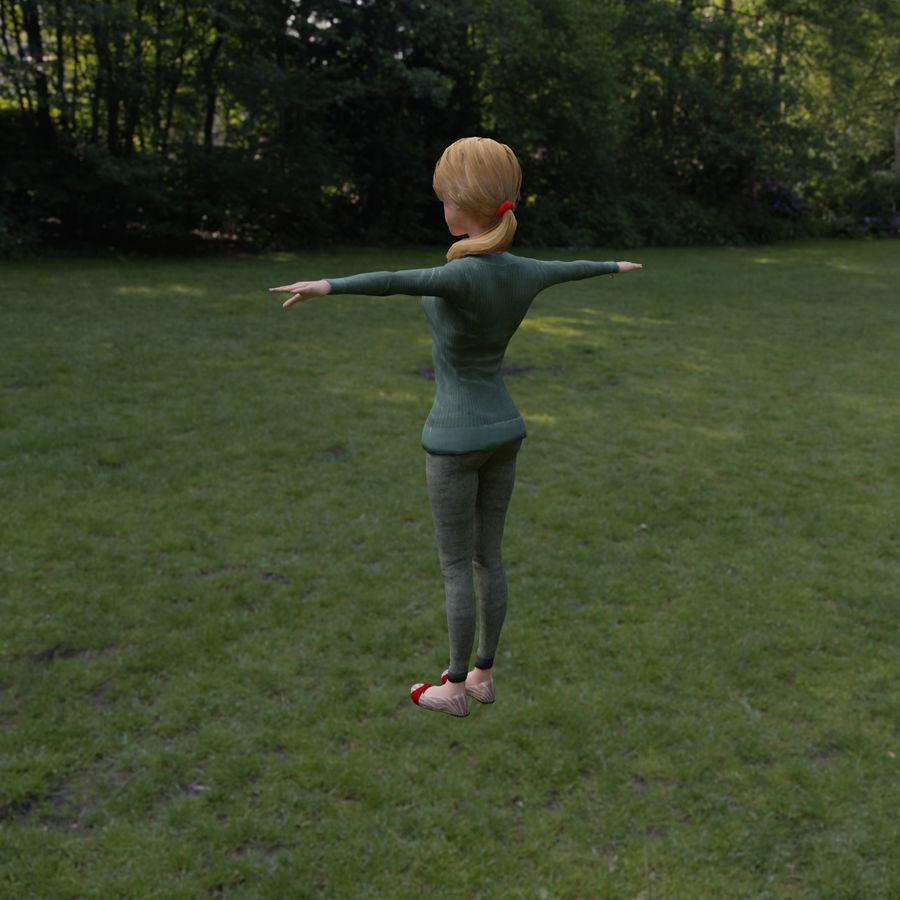 Elen royalty-free 3d model - Preview no. 6
