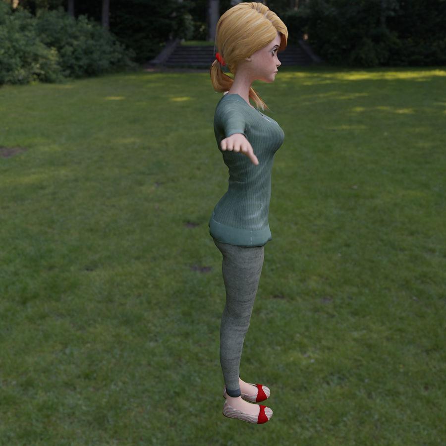 Elen royalty-free 3d model - Preview no. 5