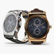 LG Watch Urbane W150 smartwatch 3d model