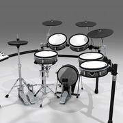 电子鼓套件:Roland V-Drums TD20 3d model