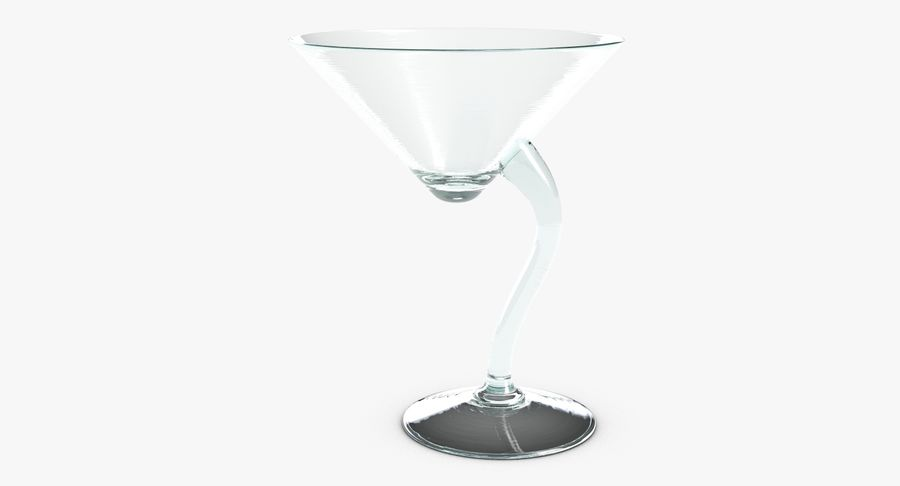 Long Drink Glass 1 royalty-free 3d model - Preview no. 3
