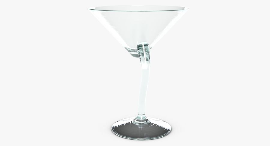 Long Drink Glass 1 royalty-free 3d model - Preview no. 7