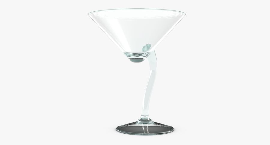 Long Drink Glass 1 royalty-free 3d model - Preview no. 6
