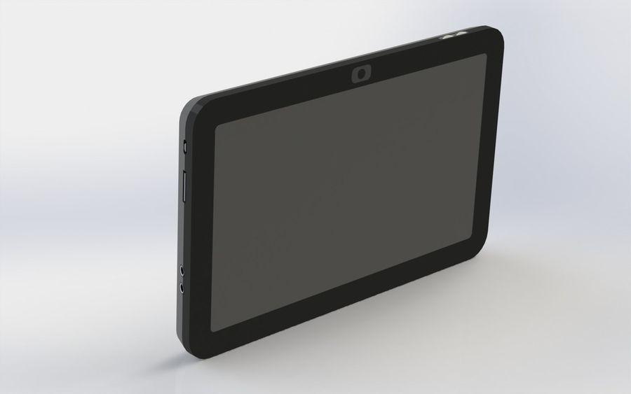 электронный планшет royalty-free 3d model - Preview no. 1