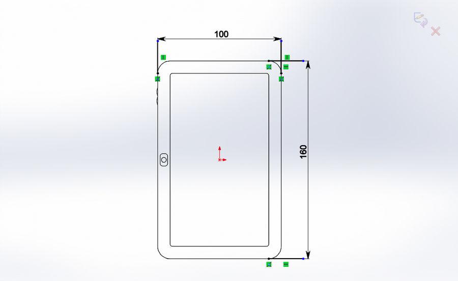 электронный планшет royalty-free 3d model - Preview no. 3
