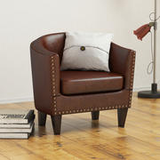 Harlow Leather Armchair 3d model