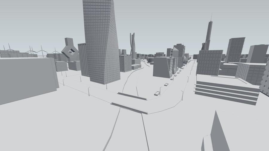 Город будущего royalty-free 3d model - Preview no. 22