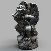 巴厘岛雕像-016 3d model