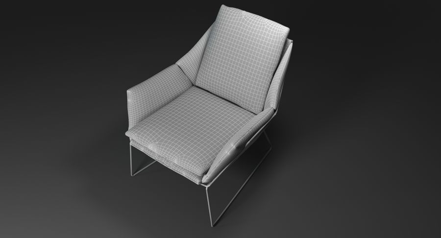 Saba New York royalty-free 3d model - Preview no. 10