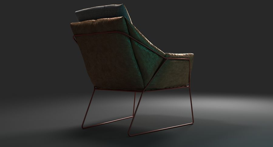 Saba New York royalty-free 3d model - Preview no. 6