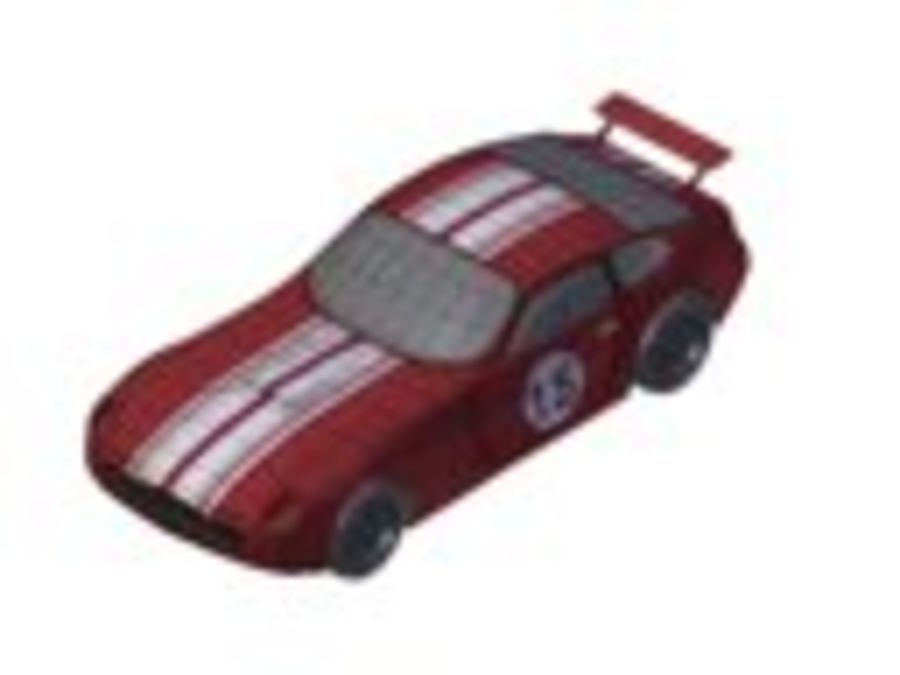 Toy Car royalty-free 3d model - Preview no. 21