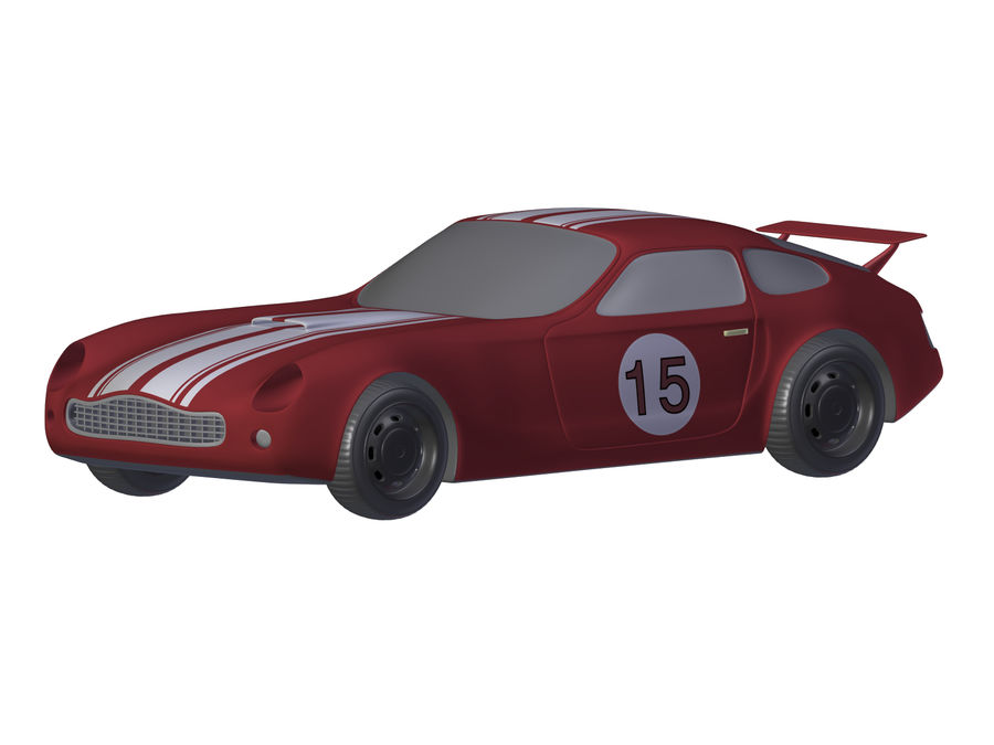 Toy Car royalty-free 3d model - Preview no. 22