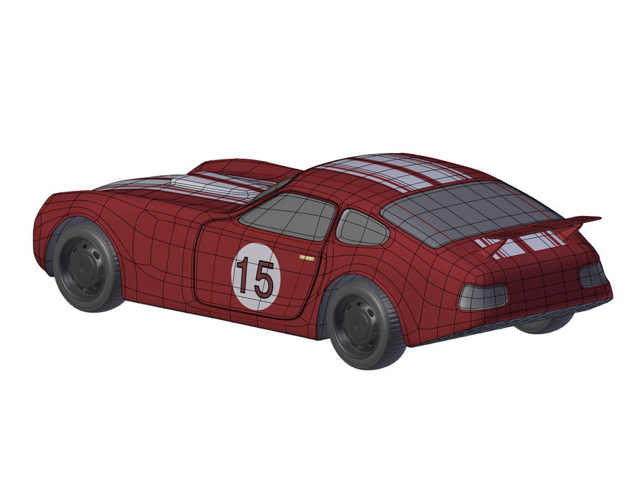 Toy Car royalty-free 3d model - Preview no. 13