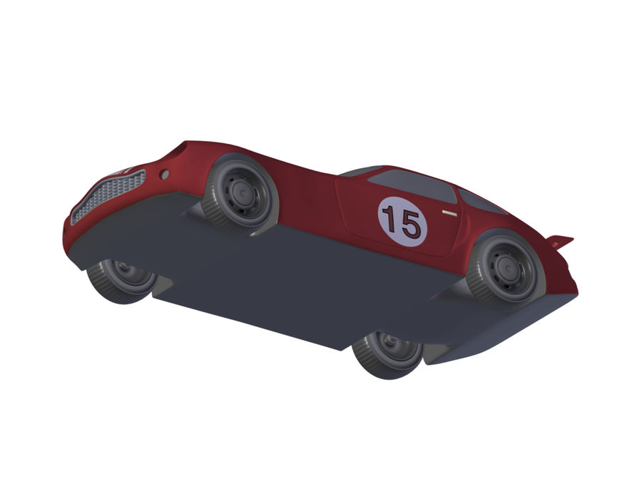 Toy Car royalty-free 3d model - Preview no. 14