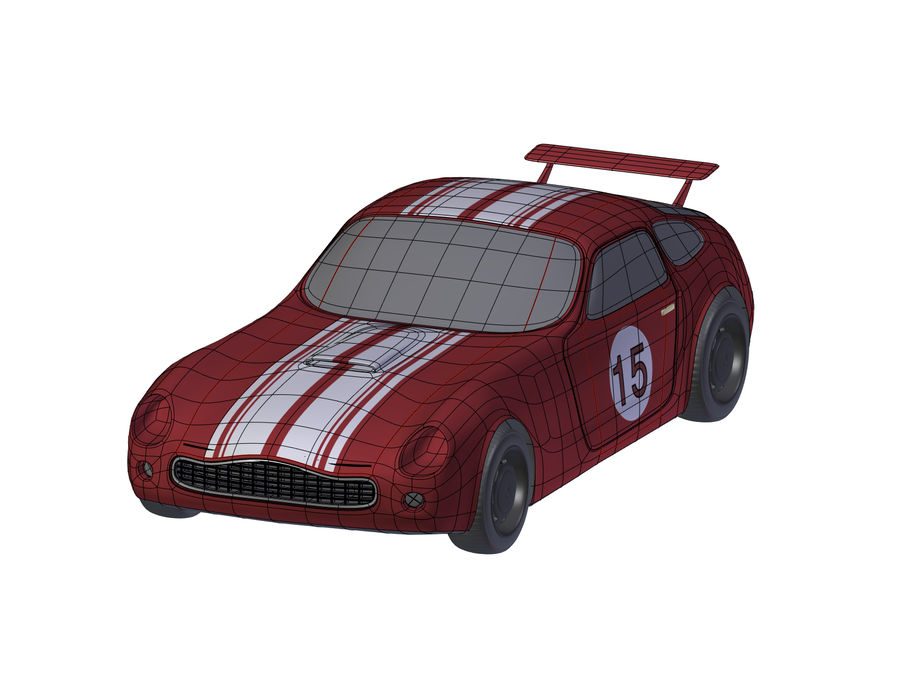 Toy Car royalty-free 3d model - Preview no. 11