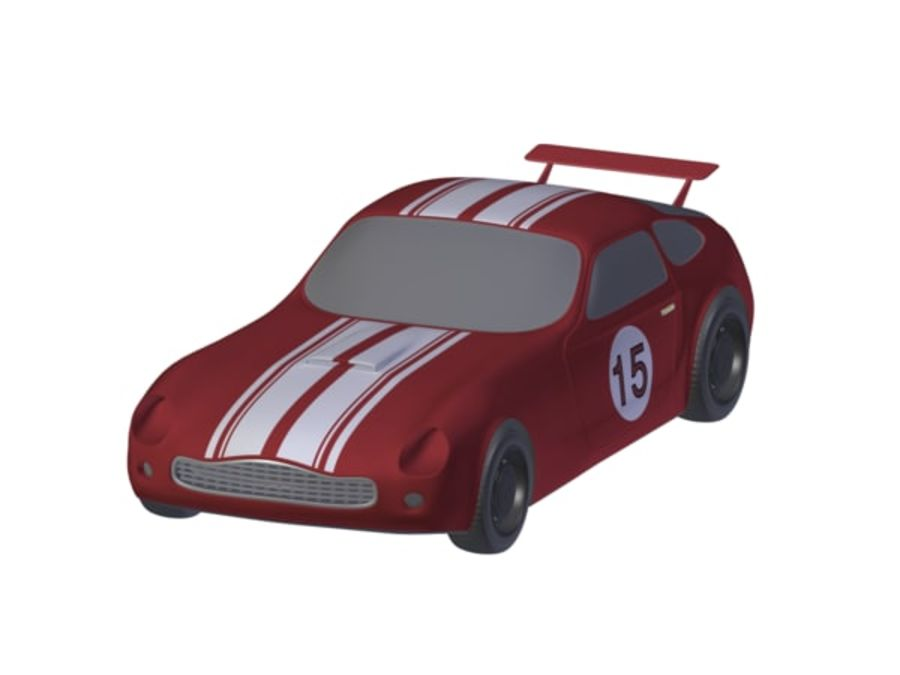 Toy Car royalty-free 3d model - Preview no. 10