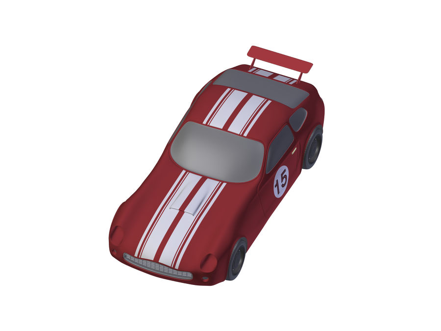 Toy Car royalty-free 3d model - Preview no. 16