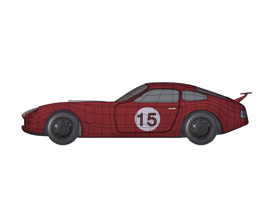 Toy Car royalty-free 3d model - Preview no. 9