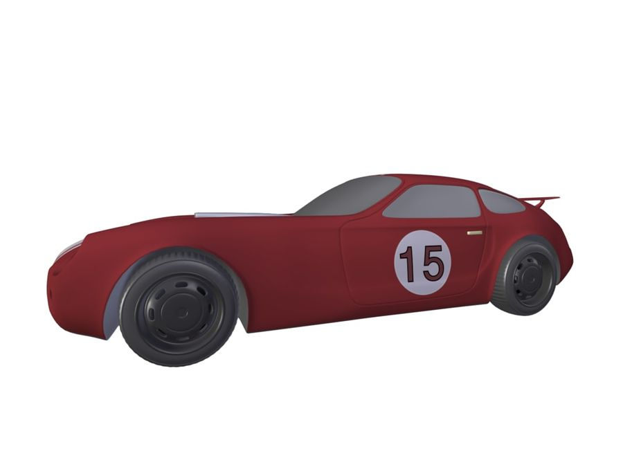 Toy Car royalty-free 3d model - Preview no. 18