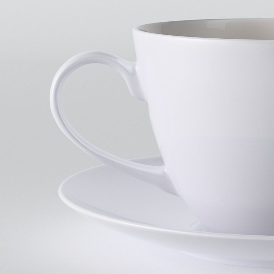 Tasse de café royalty-free 3d model - Preview no. 3