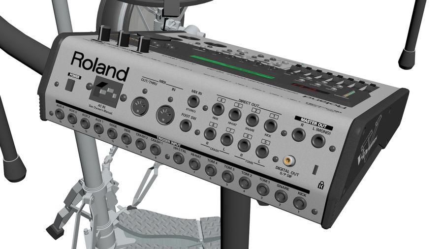 Elektronische drumkit: Roland V-Drums TD-20 royalty-free 3d model - Preview no. 14