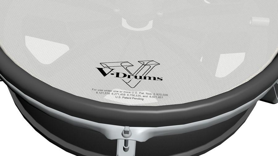 Elektronische drumkit: Roland V-Drums TD-20 royalty-free 3d model - Preview no. 16