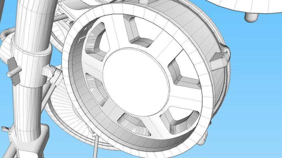 Elektronische drumkit: Roland V-Drums TD-20 royalty-free 3d model - Preview no. 40