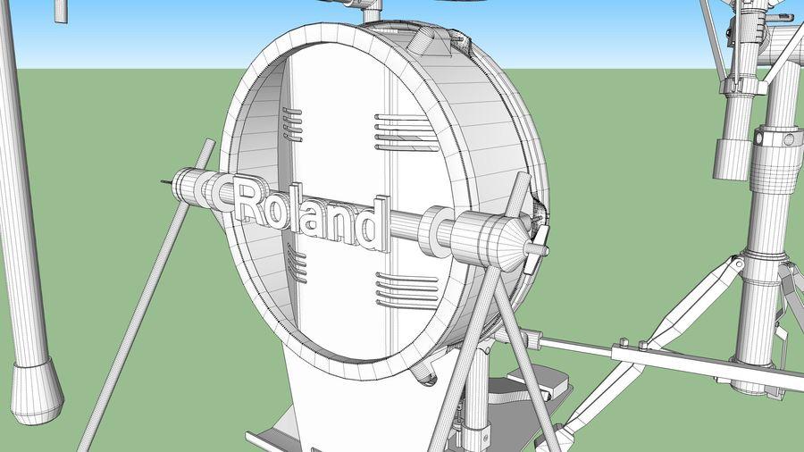 Elektronische drumkit: Roland V-Drums TD-20 royalty-free 3d model - Preview no. 37