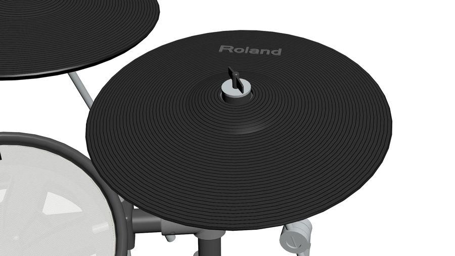 Elektronische drumkit: Roland V-Drums TD-20 royalty-free 3d model - Preview no. 20