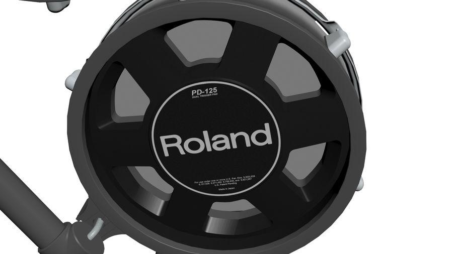 Elektronische drumkit: Roland V-Drums TD-20 royalty-free 3d model - Preview no. 18