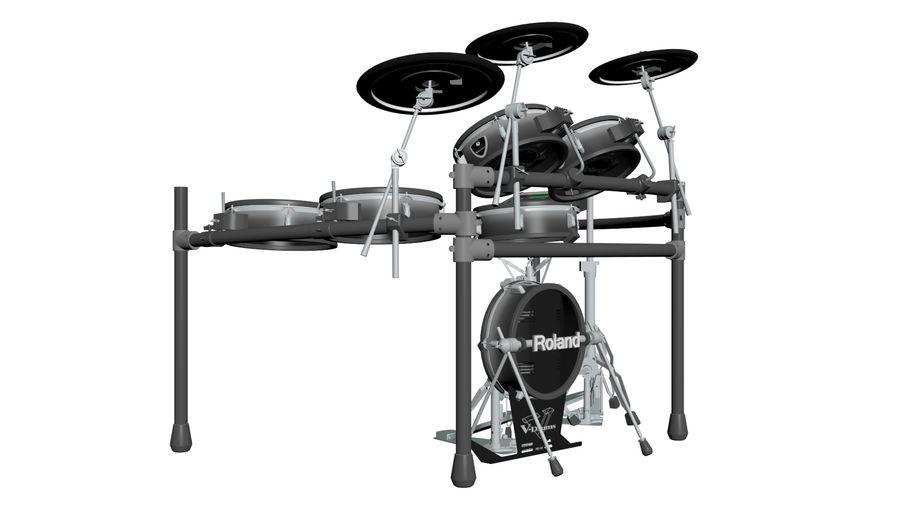 Elektronische drumkit: Roland V-Drums TD-20 royalty-free 3d model - Preview no. 8