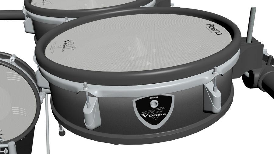 Elektronische drumkit: Roland V-Drums TD-20 royalty-free 3d model - Preview no. 15