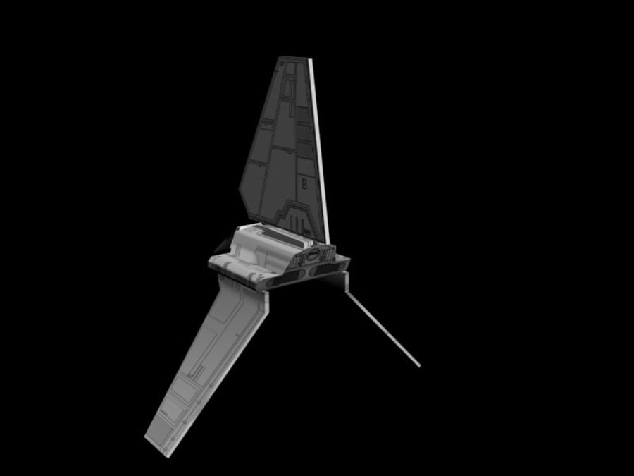 Lambda-Shuttle royalty-free 3d model - Preview no. 3