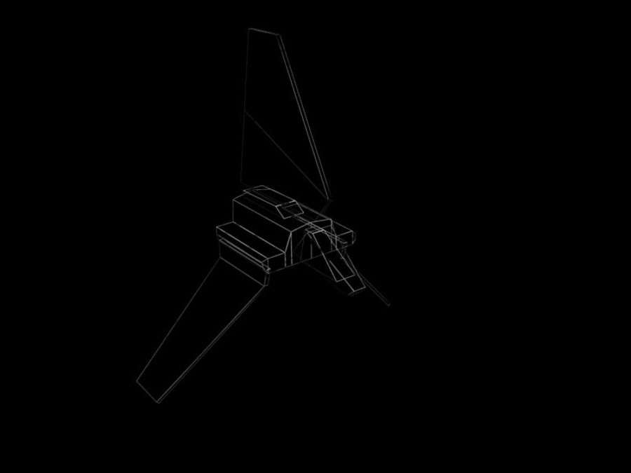 Lambda-Shuttle royalty-free 3d model - Preview no. 5