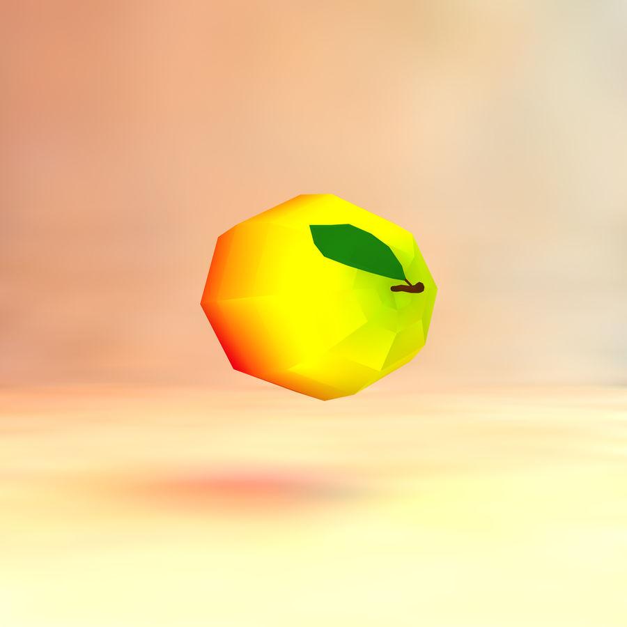 låg poly mango (spel redo) royalty-free 3d model - Preview no. 3
