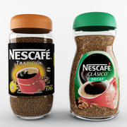 Kaffee Nescafe 3d model