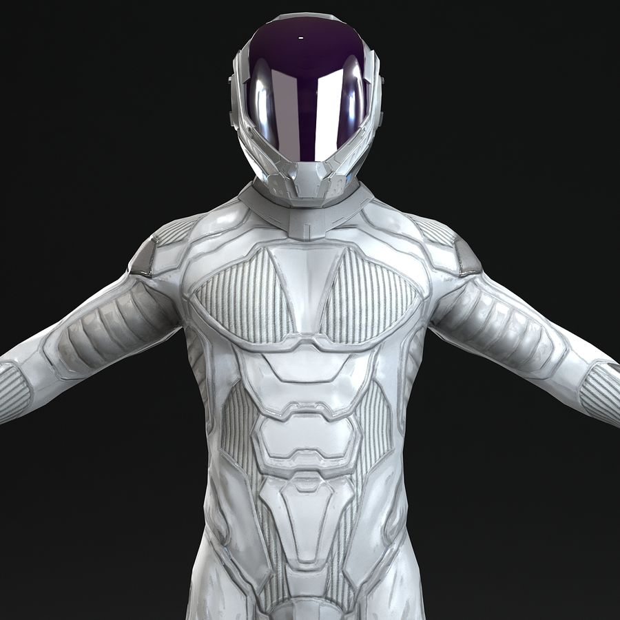 Astronaut-1(1) royalty-free 3d model - Preview no. 5