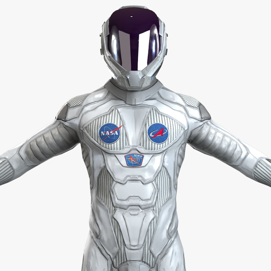 Astronaut-1(1) royalty-free 3d model - Preview no. 1
