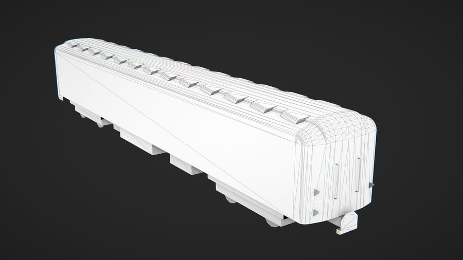 Moscow subway train royalty-free 3d model - Preview no. 9