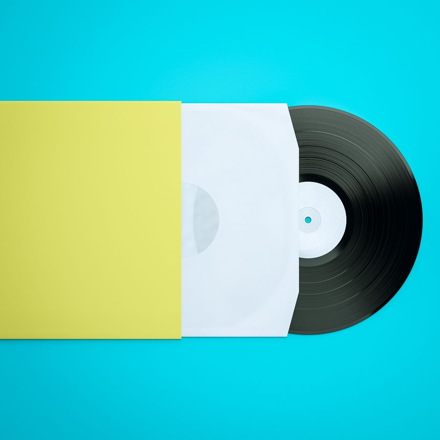 Spela in vinyl royalty-free 3d model - Preview no. 6