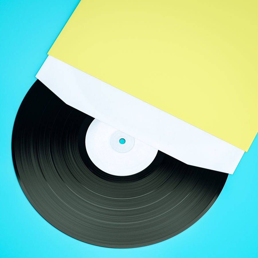 Spela in vinyl royalty-free 3d model - Preview no. 2