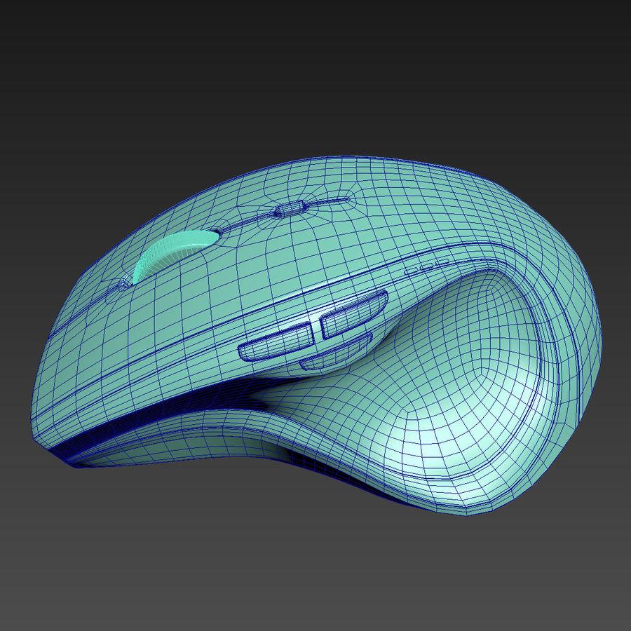 罗技无线鼠标MX royalty-free 3d model - Preview no. 11