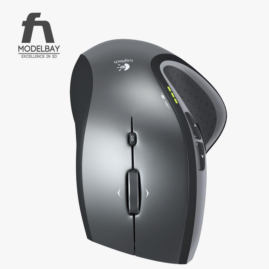 罗技无线鼠标MX royalty-free 3d model - Preview no. 5