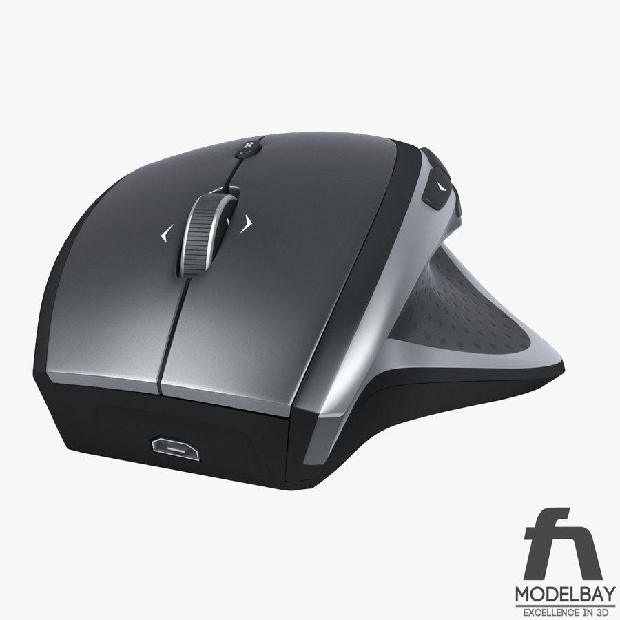 罗技无线鼠标MX royalty-free 3d model - Preview no. 4