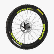 Bicycle Back Wheel 3d model