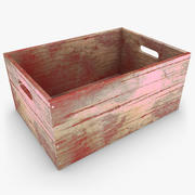 Wooden Box 03 (Color 4) 3d model
