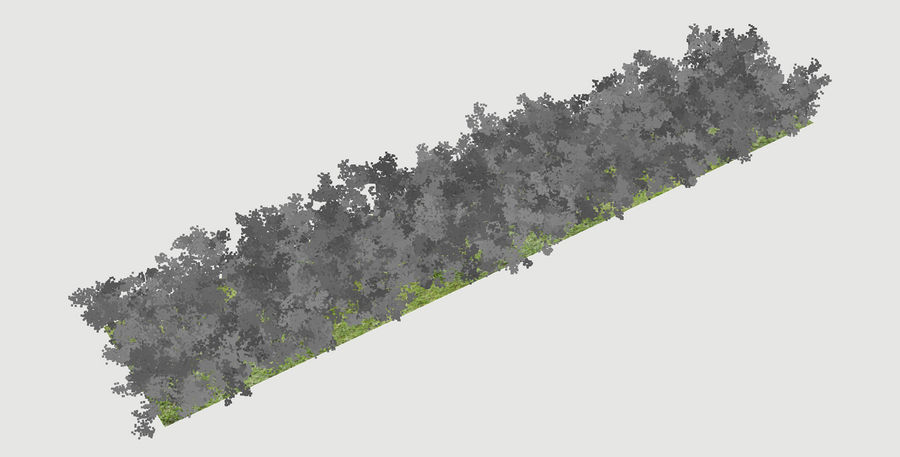 Scatterable Shrubs royalty-free 3d model - Preview no. 12