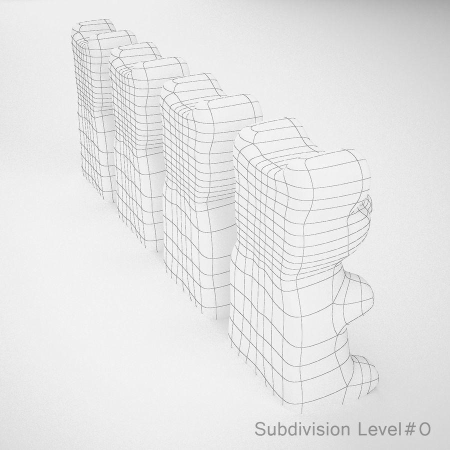 グミベア royalty-free 3d model - Preview no. 11